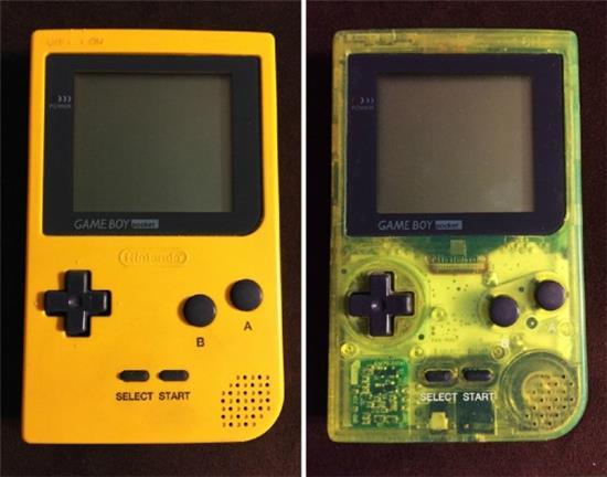 各版本GameBoy大集合满满都是回忆